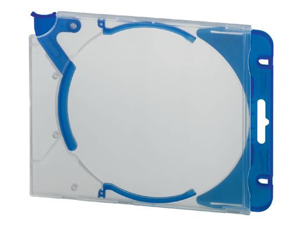Cd opbergmap Quickflip compleet blauw 5stuks