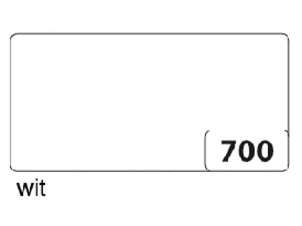 Etalagekarton folia 48x68cm 400gr nr700 wit