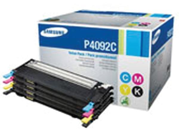 Tonercartridge Samsung CLT-P4092C zwart + kleur