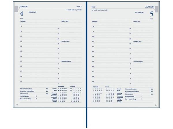 Agenda 2020 Ryam Twenty-four 1dag/1pagina donkerblauw