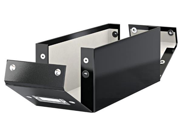 CD-BOX LEITZ CLICK&STORE 127X124X320MM ZWART