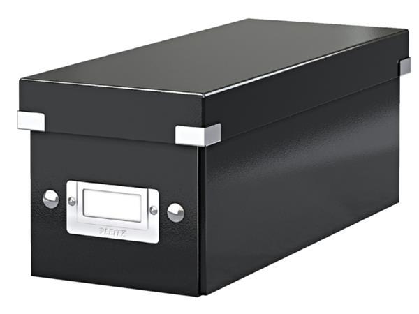 Cd box Leitz Click & Store 43x136x325mm zwart