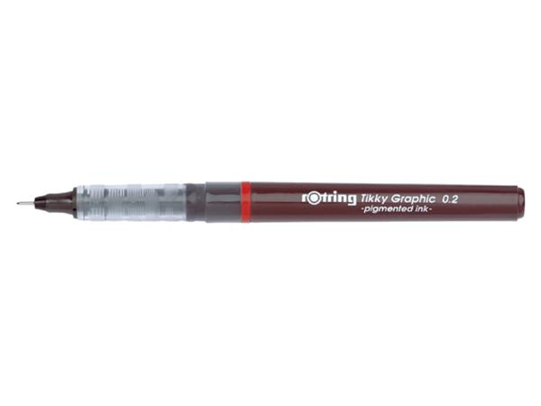 Fineliner rOtring Tikky Graphic 0.2mm