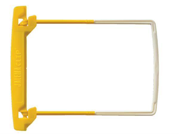 Bundelmechaniek JalemaClip Plus geel 100 stuks