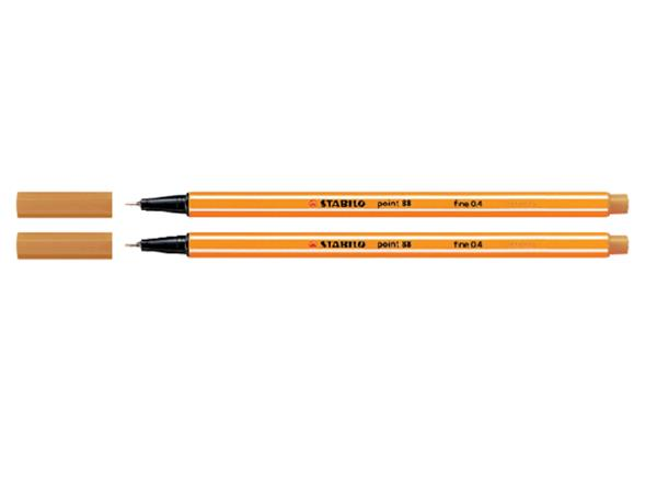 Fineliner STABILO point 88/54 oranje