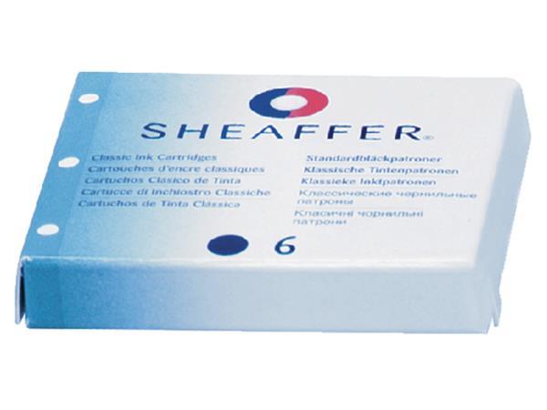 Inktpatroon Sheaffer Classic blauw/zwart