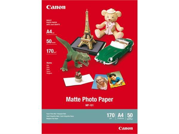 Inkjetpapier Canon MP-101 A4 170gr mat 50vel