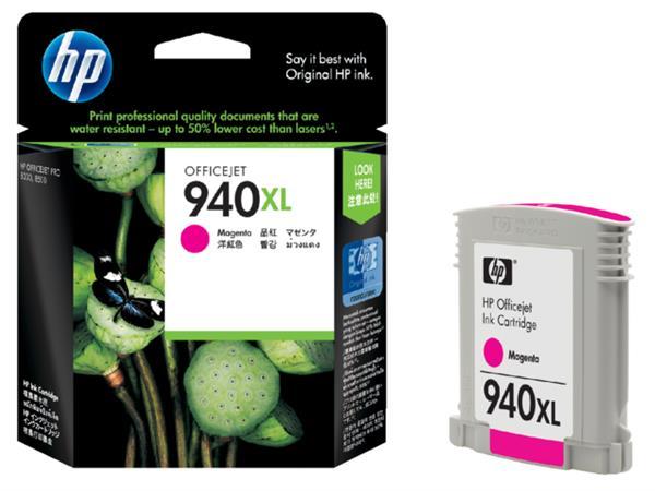 Inktcartridge HP C4908AE 940XL rood HC